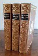 D'ARTAGNAN MEMOIRES 3 Volumes JEAN DE BONNOT. Série Complète. ETAT PARFAIT - Storia