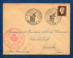 ⭐ France - FDC - Premier Jour - Exposition Philatélique - Beauvais - 1945 ⭐ - ....-1949