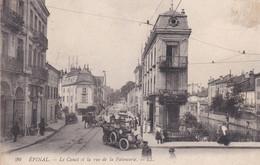 (88) EPINAL .Le Canal Et La Rue De La Faïencerie  (Auto 1900 , Voitures à Cheval, Boucherie) - Epinal