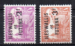 Col17  Colonie Wallis & Futuna Taxe N° 9 & 10  Neuf X MH  Cote 40,00 € - Timbres-taxe