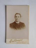 Photo Prêtre Vers 1900 Van Damme  Gand - Ohne Zuordnung