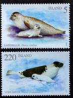 Iceland 2010; Seals, Michel 1261-1262.** (MNH) - Nuovi