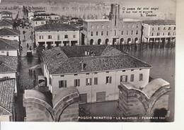 ITALIA - POGGIO RENATICO (ferrara) - Le Alluvioni Del 1951 Animata, Viag.1951, For. Grande - 2020-E-107 - Ferrara