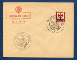 ⭐ France - FDC - Premier Jour - Journée Du Timbre - Nice - 1946 ⭐ - ....-1949
