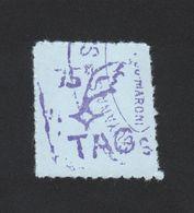 Reproduction Guyane Poste Aérienne N° 1 75 C Violet - Sonstige