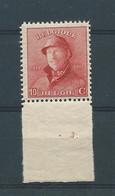N° 168A **   AVEC N° DE PLANCHE 3 - 1919-1920 Roi Casqué