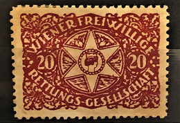 """AUSTRIA - Vignette """"Wiener Freiwillige Rettungsgesellschaft"""" - Rot - Nuovi"""