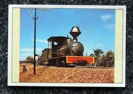 Image Sticker LA VIE DU RAIL - Histoire Des Chemins De Fer - N° 302 Locomotive Voie étroite En Afrique - Otros