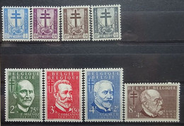 BELGIE 1953     Nr. 930 - 937      Postfris **    CW  74,00 - Nuevos