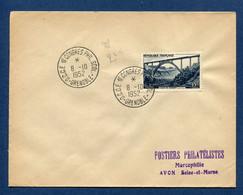 ⭐ France - FDC - Premier Jour - Congrès Philatélique - Grenoble - 1952 ⭐ - ....-1949
