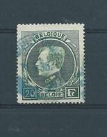 N° 290A OBLITERE BRUXELLES CHEQUE EN BLEU - 1929-1941 Grand Montenez