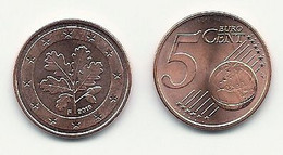 5 Cent, 2019, Prägestätte (F) Vz, Sehr Gut Erhaltene Umlaufmünze - Germany
