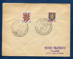 ⭐ France - FDC - Premier Jour - Foire Internationale - Montpellier - 1952 ⭐ - ....-1949