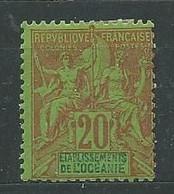 OCEANIE N° 7 * TB 2 - Unused Stamps