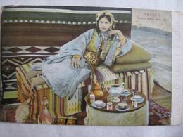 Femme Arabe Chez Elle, Tanger, Morocco - Posted 1910 - Tanger