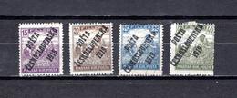 Checoslovaquia   1919   .-  Y&T  Nº     81-83/84-86 - Gebraucht