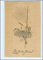 XX11086/ Neujahr  Frosch  Spinngewebe AK Ca.1910 - Pentecostés