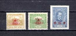 Checoslovaquia   1920   .-  Y&T  Nº     182/184    *  C/charniere - Ungebraucht