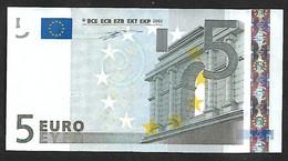 "Greece  ""Y"" 5 EURO GEM UNC! Duisenberg Signature! Printer N001G1  Extremely Rare!! - 5 Euro"