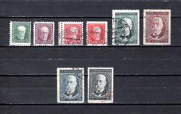 Checoslovaquia   1930   .-  Y&T  Nº     267/269a-270/273 - Gebraucht