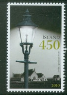 Iceland 2010; Gas Lighting - Michel 1287.** (MNH) - Neufs