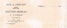HOTEL DU CHENE VERT GUITTON MOREAU A L ABSIE  51-0459 - 1900 – 1949