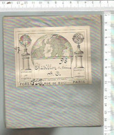 FF / Rare à Saisir ///  SUPERBE CARTE Ancienne ENTOILEE @@  CHATILLON SUR SEINE S/O  @@ 0,66 X 0,44 Cm Dépliée - Geographical Maps