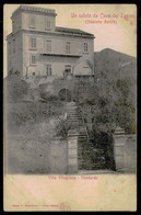 CAVA DEI TIRRENI   Un Saluto Da Cava Dei Tirreni - Villa Vilagliano. ( Ed. Bazar F. Guistiniani Nº 13306) Carte Postale - La Spezia