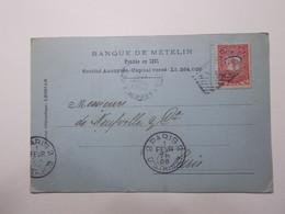 Marcophilie  -  TURQUIE Constantinople Carte 1908 (2686) - Briefe U. Dokumente