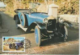 Jersey Carte Maximum 1989 Automobile De Dion Bouton 452 - Jersey