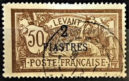 LEVANT 1902/20 - Canceled - YT 20 - 2P/50c - Oblitérés