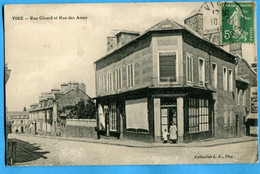 14 - Calvados - Vire - Rue Girard Et Rue Des Acres (N1760) - Vire