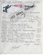 70 - Haute-saône - MARGILLEY - Facture VILLEMOT - Peinture, Plâtrerie, Papiers Peints - 1946 - REF 165B - 1800 – 1899