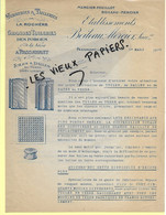 70 - Haute-saône - PASSAVANT-LA-ROCHERE - Facture BOILEAU-MERCIER - Verrerie, Tailleries, Tuiles, Etc - 1927 - REF 165B - 1800 – 1899