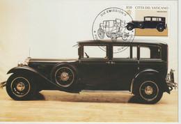 Vatican Carte Maximum 1997 Automobile Mercedes Benz 1064 - Maximum Cards