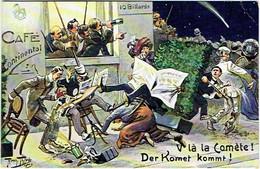 Illustrateur : Thiele, Arthur.  V'la La Comète !. Der Komet Komm ! - Thiele, Arthur