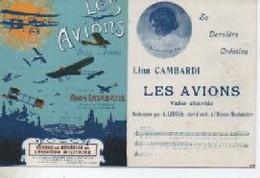 LES AVIONS  VENDUE AU BENEFICE  DE L A VIATION MILITAIRE LA CARTE EST NEUVE - Luchtvaart