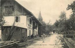 HAUTE SAVOIE  SERRAVAL  Route De Thones - Altri Comuni