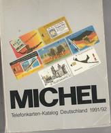 TELEFONKARTEN KATALOG 1991. 214S - Books & CDs