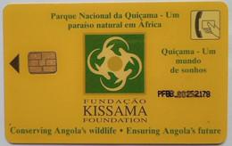 Angola 50 Units Fundacao Kissama Foundation ( Slightly Bent) - Angola