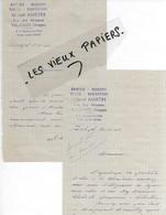88 - Vosges - VAL-D'AJOL - Facture MARTIN - épicerie, Mercerie, Tissus, Confections - 1946 - REF 165C - France