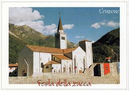 1 AK Italien * Der Dom Di Sant'Andrea In Der Gemeinde Venzone - Erb. Im 14. Jh. Nach Dem Erdbeben 1976 Wieder Aufgebaut - Other Cities