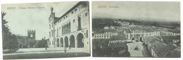 2 Cpa Italie - Thiene - Palazzo Colleoni / Panorama - Andere