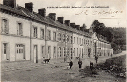 FONTAINE-le-BOURG - Les Dix-huit Maisons - Francia