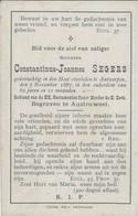 BP Segers Constantinus Joannes (+Antwerpen 1887) - Alte Papiere