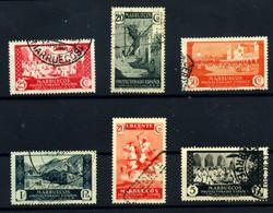 Marruecos Español Nº 130/9, 142/43, 146/7. Año 1933/35 - Maroc Espagnol