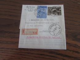 N° 771 + N° 811 (soit 5,75Fr) Sur Lettre Recommandée De ST SERVAIS Pour Namur En 1949 - Brieven En Documenten