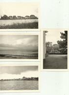 Knokke - Lac Knokke 1957 - 3 Foto's + 1 Duinbergen - Knokke