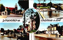 Carte 1960 SOUVENIR DE CHATEAU DU LOIR / MULTIVUES - Chateau Du Loir