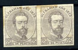 Antillas Española Nº 25s. Año 1873 - Non Classificati